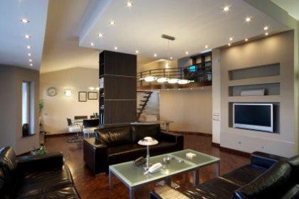 Eclairage interieur maison contemporaine suspension luminaire led ...